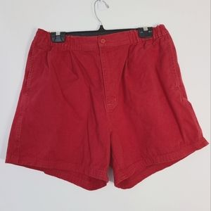 Vintage Christopher Rand Red Shorts M